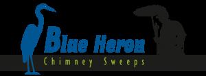 Blue Heron Chimney Sweeps Logo